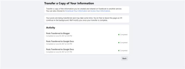 Facebook'la İşiniz Bitti mi? Gönderilerinizi Başka Bir Servise Nasıl Aktarırsınız? 24