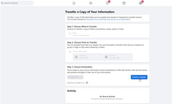 Facebook'la İşiniz Bitti mi? Gönderilerinizi Başka Bir Servise Nasıl Aktarırsınız? 16